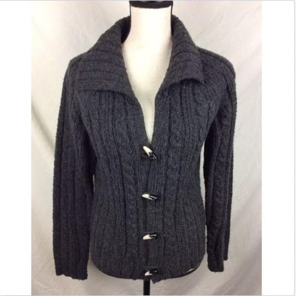 b23bbec8cb Caslon Sweaters - Caslon Cardigan Sweater Dark Gray Toggle Button